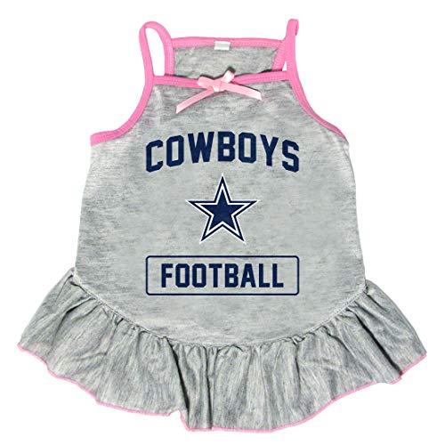 Littlearth NFL Dallas Cowboys Pet Dress, Small