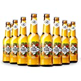 The Good Cider Apple 0% - Sidra sin alcohol de manzana, Sidra Natural de Sabores – Caja 12 botellas x 33 cl