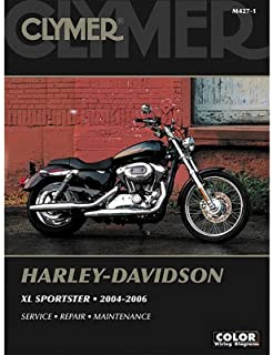 Clymer Repair Manuals for Harley-Davidson Sportster 883 Low XL883L 2005-2010