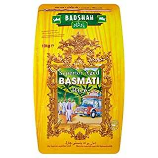 Badshah Basmati Rice, 10kg (B00432JB9M) | Amazon price tracker / tracking, Amazon price history charts, Amazon price watches, Amazon price drop alerts