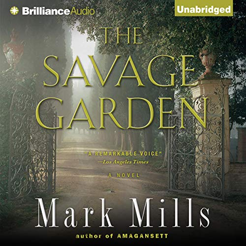 The Savage Garden audiobook cover art