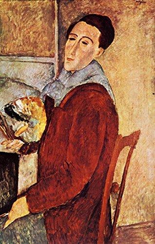 Der Museum Outlet–1919Portrait de l 'artiste PAR lui-meme–Poster (mittel)