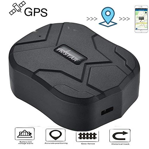Hangang Localizador GPS para Coche Seguimiento en Tiempo Real Posicionamiento Preciso Monitor Magnético Impermeable a Distancia de 150 Días Standbygps Tracker Smart Saving Power