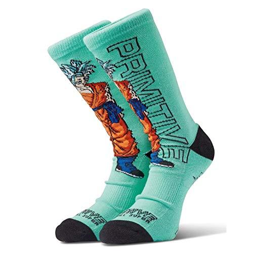 Primitive x Dragon Ball Z Super Men's SSG Goku Socks