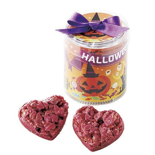 ハロウィン お菓子 プチギフト ばらまき用『ハロウィン タ ワ ー(苺クランチ)』退職異動 お礼お返し 個包装子ども かわいい CSP1062 (10個セット)