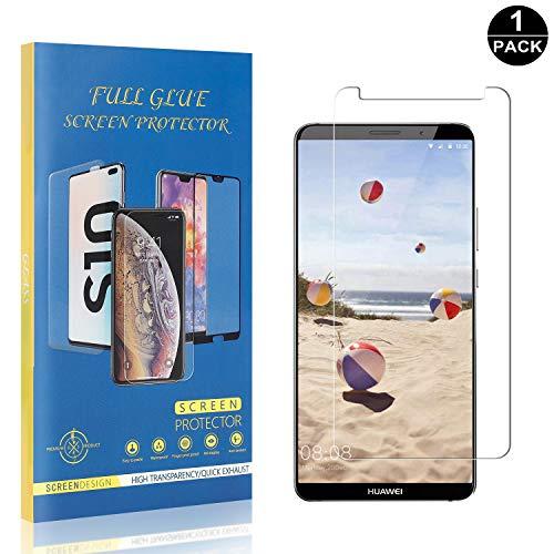 Bear Village® Verre Trempé pour Huawei Mate 10 Pro, Sans Bulles Protection en Verre Trempé Écran pour Huawei Mate 10 Pro, Ultra Résistant, 99% Transparent, 1 Pièces