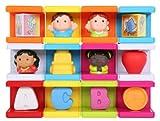 Safety First Cubikals Stack 'n Play 12 Block Set - School Set 2