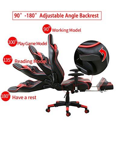 Storm Racer Gaming Stuhl PC Racing Bild 3*