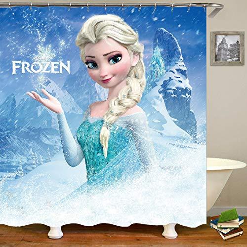 Vrupi Dibujos Animados Cute Princess Frozen Elsa Poliéster