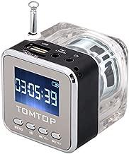 Docooler Mini FM Radio MP3/4 Player TF USB Disk Speaker Digital Portable Music Player