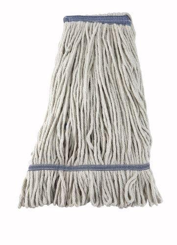 Winco Max 88% OFF Yarn Mop Head 24-Ounce 4 Loop End Ply Popular popular medium White -