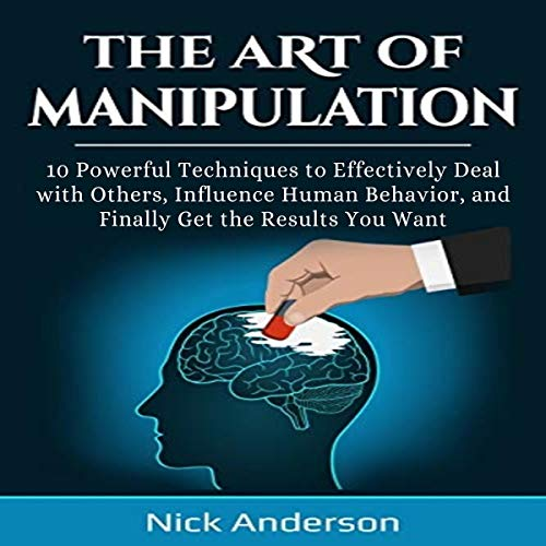 The Art of Manipulation audiobook cover art