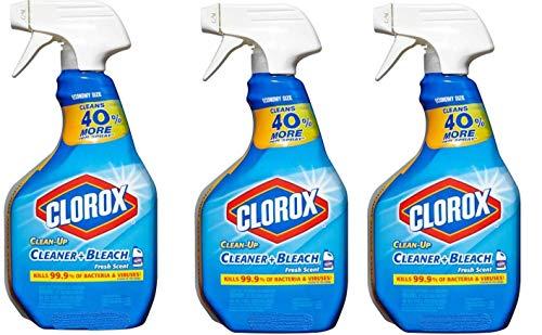 3 Pk.Clorox Clean-Up Cleaner Spray Fresh Scent 24 oz