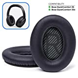 Wicked Cushions Premium Bose QC35 Headphones Replacement Ear Pads - Memory Foam Pads Adapt to Your Ears - Fits...