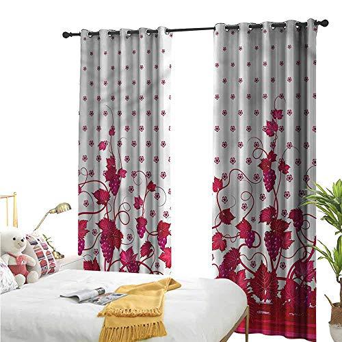 Flora Grant 2 Gordijn Panelen, Wijnstok, Bruiloft Geïnspireerd Groene Poort, Home Decor Mode Backout Draperies