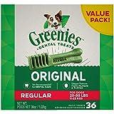 GREENIES Dental Chews Regular Size Treats for Dogs