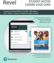 Revel for Human Communication in Society -- Combo Access Card (5th Edition)
