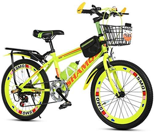 CENPEN Bicicletas for niños hombres como mujeres, bicicleta de montaña de Estudiantes de bicicletas Niños de bicicletas de 20 pulgadas de bicicletas Verano Velocidad de desplazamiento de la bici ?? aj