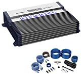 Hifonics BXX800.4 800 Watt RMS 4-Channel Car Amplifier Class AB Brutus+Amp Kit