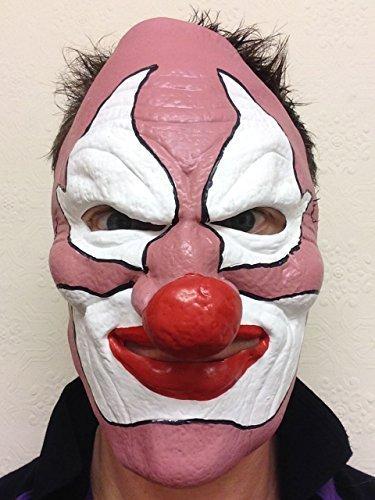 Rubber Johnnies Masque effrayant en latex pour Halloween Motif tête de mort