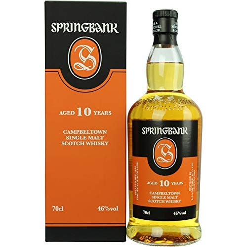 Springbank Whisky 10 Jahre (1 x 0.7 l)
