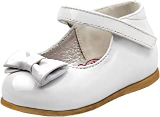 Baby Girls Patent Dressy Shoe Bow (Infant, Toddler)