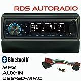 RDS AUTORADIO GXR550 USB SD Bluetooth UKW/MW Ford Focus Fiesta Mondeo Transit