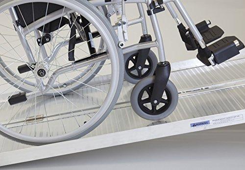 Faltbare Rollstuhlrampe/Kofferrampe (610mm lang x 715mm breit)
