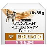 PURINA Wet Renal Diet Cat Food Salmon Wet Cat Diets 10 X 85 gr