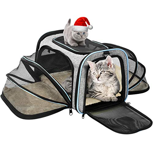 OMORC Sac de Transport Chat Chien Extensible, Structure...