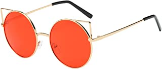 UROSA Men Womens Unisex Fashio Chic Cat Eyes Shades Frame UV Glasses Sunglass