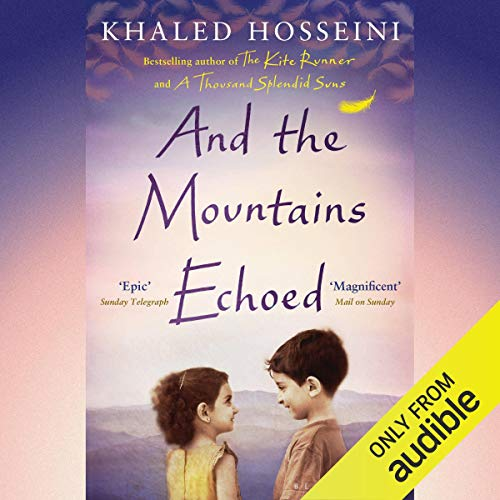 And the Mountains Echoed audiobook cover art