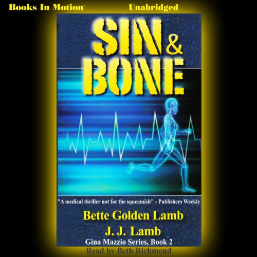 Sin and Bone audiobook cover art