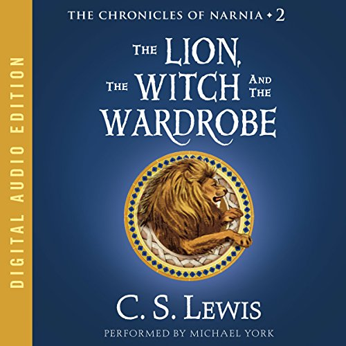 The Lion, the Witch, and the Wardrobe     The Chronicles of Narnia              Written by:                                                                                                                                 C.S. Lewis                               Narrated by:                                                                                                                                 Michael York                      Length: 4 hrs and 21 mins     108 ratings     Overall 4.7