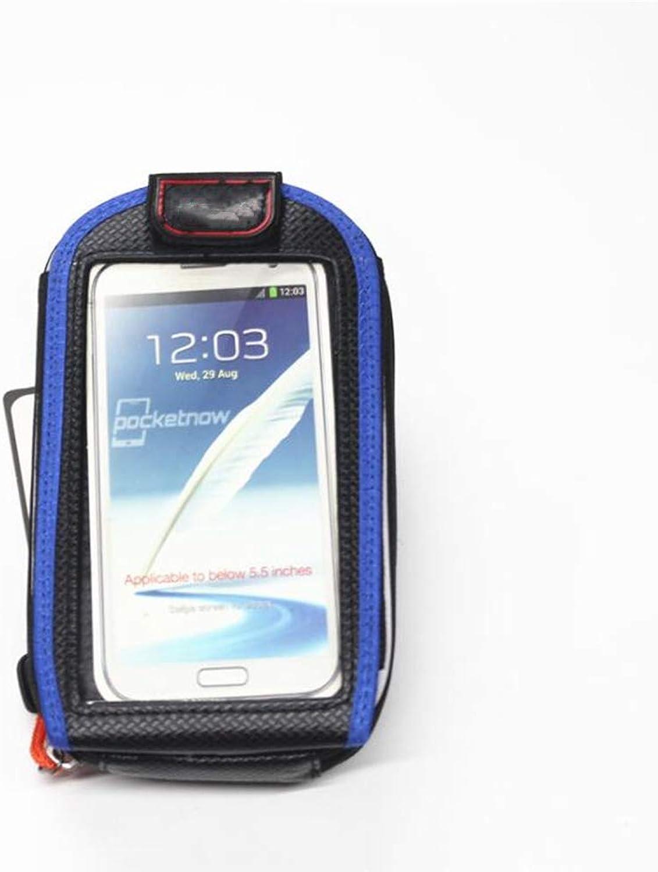 Bicycle Tube Mobile Phone Bag, Road Bike Handlebar Mobile Phone Bag Mountain Bike Front Bicycle Touch Screen Mobile Phone Bag Riding Equipment