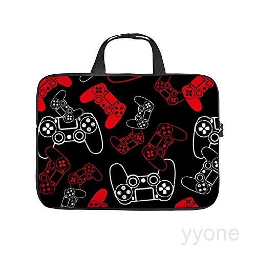 Neoprene Sleeve Laptop Handle Bag Handbag Notebook Case,Video Games red on Black,House Plants Portable MacBook Laptop/Ultrabooks Case Bag Cover 13 Inch