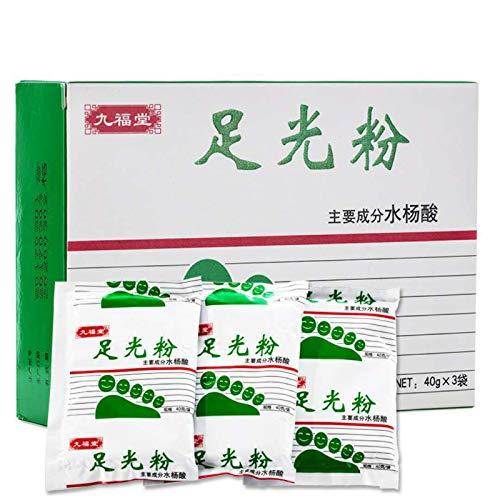 XJYA El Polvo Desodorante, el Polvo Desodorante para Zapatos y el Talco para baño de pies Tienen un Efecto mágico en el Tratamiento de los pies.
