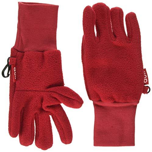Döll Unisex Fingerhandschuhe Fleece Handschuhe, Rot (Lipstick Red 2770), 6 (Herstellergröße: 6)
