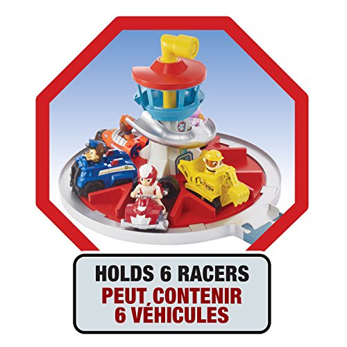 PAW PATROL On a Roll Deluxe Lookout Playset - Pistas para vehículos de Juguete, Multicolor, Niño, Caja