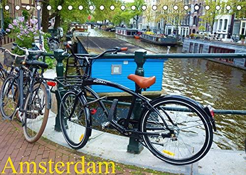 Amsterdam (Tischkalender 2022 DIN A5 quer)