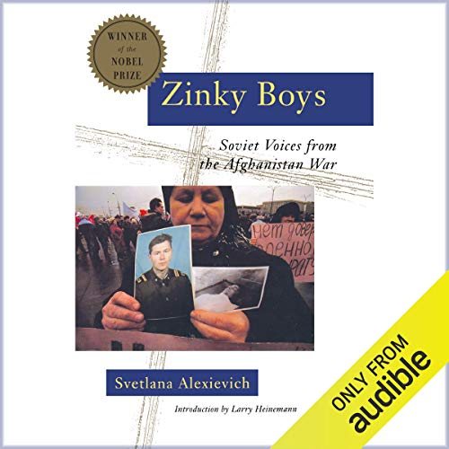 Zinky Boys audiobook cover art