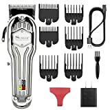 SURKER Mens Hair Clippers Cord Cordless Hair Trimmer Professional Haircut & Grooming Kit Beard...