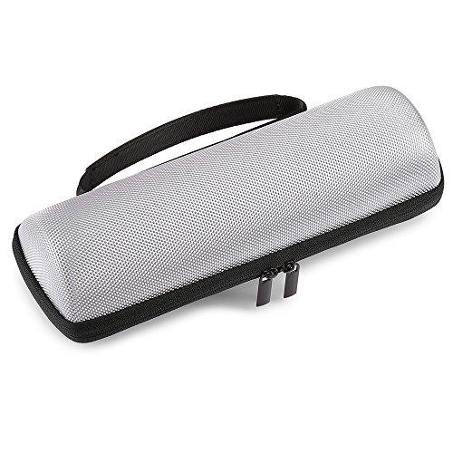 Oyfel Flip 4 Stereo-Bluetooth-Schutzhülle für Lautsprecher Grau