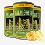 Palmighetti Low Carb Linguine, 14 Ounces (Pack of 3), Hearts of Palm Spaghetti Noodles, Gluten-Free, Keto, Paleo, Vegan, Sugar-Free, Sustainable, Healthy Pasta Alternative.