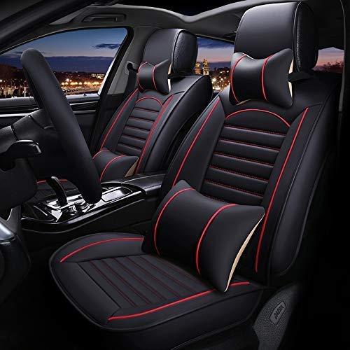 Autositzbezug Protektoren Autositzbezüge Front Universal Ledersitzbezug für Hyundai...