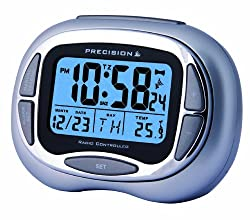 Precision radio controlled alarm clocks offer the latest in radio controlled time keeping technology in analogue, LCD & LED formats. Precision products are accurate to 1 second in 10 million years, have automatic set up for time and calendar (where a...