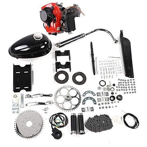 Zouminyy Kit De Motor De Bicicleta De Bicicleta Motorizada, Kit de Motor de Gas, Kit de motor de motor de gas de gasolina de 4 tiempos para modificación de bicicleta motorizada