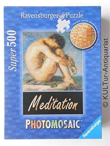 Bildnis eines jungen Mannes - Meditation, Super 500 (Teile) PHOTOMOSAIC Puzzle, Ravensburger 15 484 5
