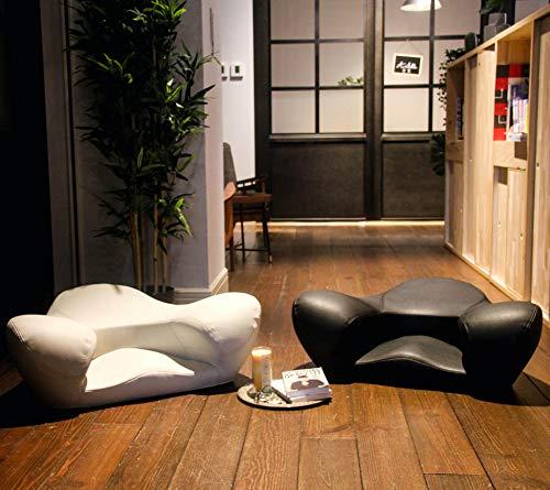 Alexia Meditation Seat Ergonomically Correct for The Human Physiology Zen Yoga Chair (Black, Vegan...