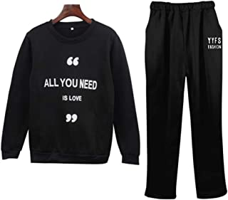 Women's top and Jogger Pants Sweatsuit Set Collection Sportswear
